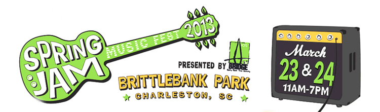 Spring Jam Music Fest 2013, March 23, Charleston, SC.